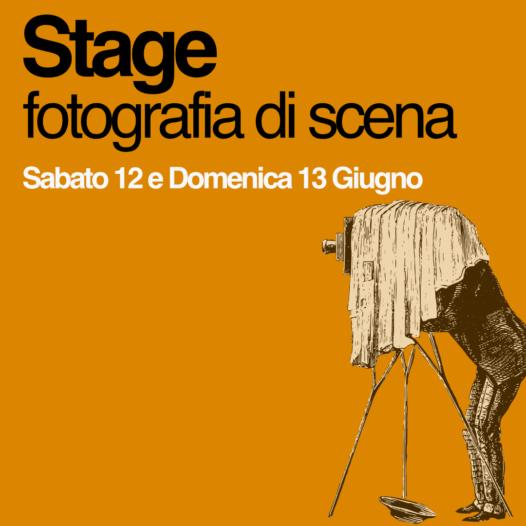 Stage di fotografia di scena